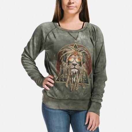 Naiste Dressipluus Retro Lion