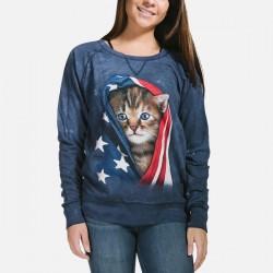 Naiste Dressipluus USA Kitten