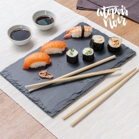 7-osaline Sushi Komplekt Kivist Kandikuga