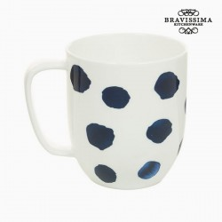 Фарфоровая Чашка Blue Mouse