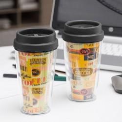 Пластиковая Термокружка Coffee