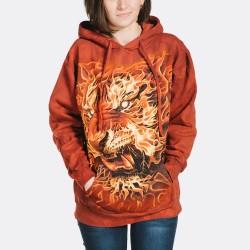 3D prindiga soe Pusa Fire Tiger