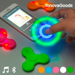 LED Spinner  Kõlari- ja Bluetoothiga