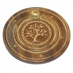 деревянная Подставка для Благовоний Tree of Life