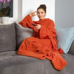 Тёплое Одеяло с Рукавами DELUXE, Ginger