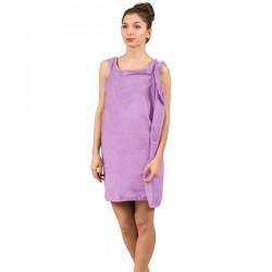 Халат-Полотенце, фиолетовый