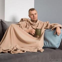 Тёплое Одеяло с Рукавами DELUXE, Toffi