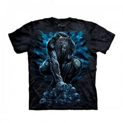 футболка с 3D принтом Werewolf Rising