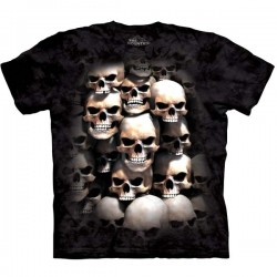 3D prindiga T-särk Skul Crypt