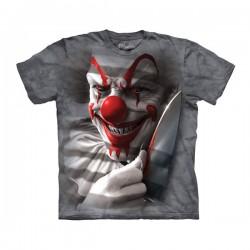 футболка с 3D принтом Clown