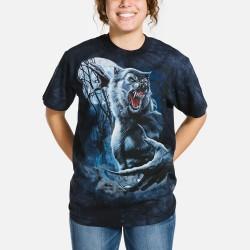 3D prindiga T-särk Ripped Werewolf