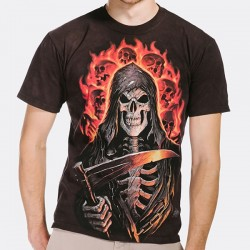 3D prindiga T-särk Fire Reaper