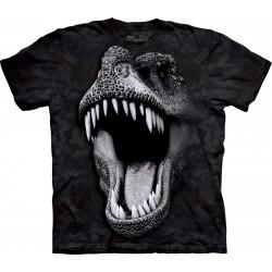 светящаяся в темноте детская футболка с 3D принтом Rex