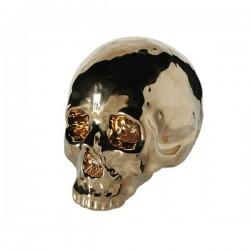 XL Rahakassa Metallic Skull