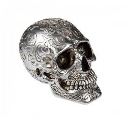 серебряного цвета Копилка Mystic Skull