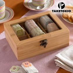 Bambusest Teekarp
