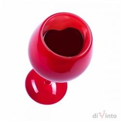 Милый Бокал для Вина в Чемоданчике, красный