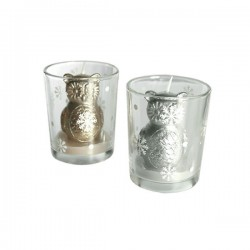 Küünal Klaasis Silver Owl