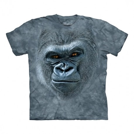 3D prindiga T-särk Smiling Gorilla