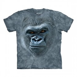 3D prindiga T-särk lastele Smiling Gorilla