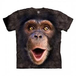 3D prindiga T-särk lastele Happy Chimp