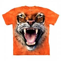 детская футболка с 3D принтом Roaring Tiger