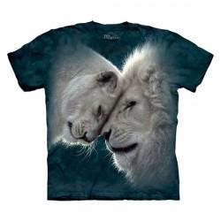 детская футболка с 3D принтом Lions Love