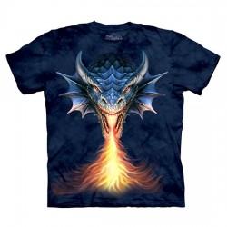 детская футболка с 3D принтом Fire Breather