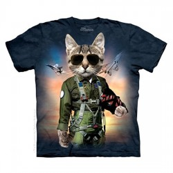 детская футболка с 3D принтом Tom Cat