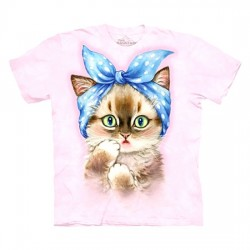 3D prindiga T-särk Pin Up Kitten
