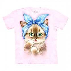 футболка с 3D принтом Pin Up Kitten