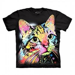 футболка с 3D принтом Catillac