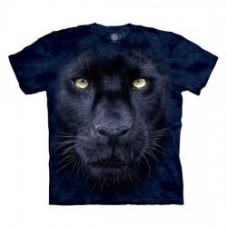 детская футболка с 3D принтом Panther Gaze