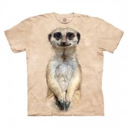 детская футболка с 3D принтом Meerkat
