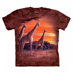 детская футболка с 3D принтом Sundown