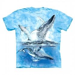 детская футболка с 3D принтом 11 Whale Tails