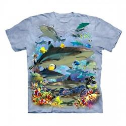 детская футболка с 3D принтом Reef Sharks