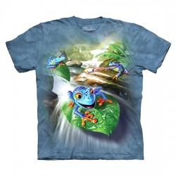 детская футболка с 3D принтом Frog Capades