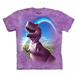 детская футболка с 3D принтом Happy Dino