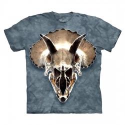 3D prindiga T-särk Triceratops Skull