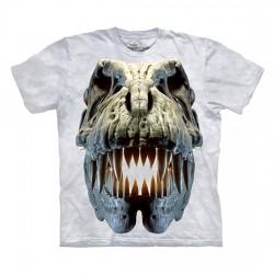 детская футболка с 3D принтом Silver Rex Skull