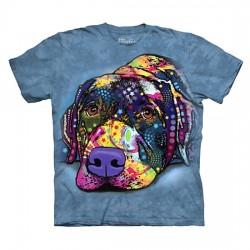 футболка с 3D принтом Savvy Labrador