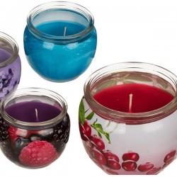 Lõhnaküünal klaaspurgis (wild cranberry)