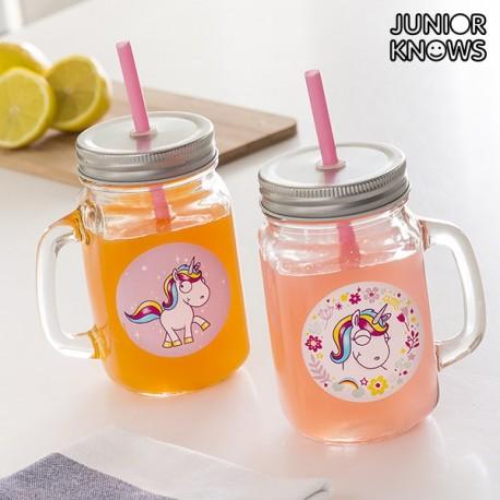Purk-Joogiklaasid Unicorn (2tk)