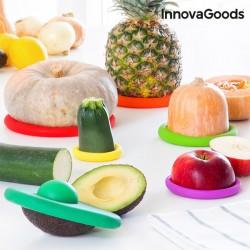 6-osaline Silikoonkaante Komplekt Toiduainete Säilitamiseks