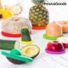 6 Силиконовых Крышек для Хранения Овощей и Фруктов