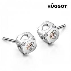 Kõrvarõngad Hûggot Dice (925 hõbe ja tsirkoonium)