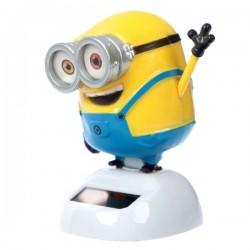 Двигающийся Minion Bob на Солнечной Батарее