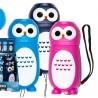 dünamoga LED taskulamp Owl