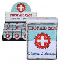 Металлическая Коробочка First Aid